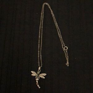 """Dragonfly necklace 18"""" long"""